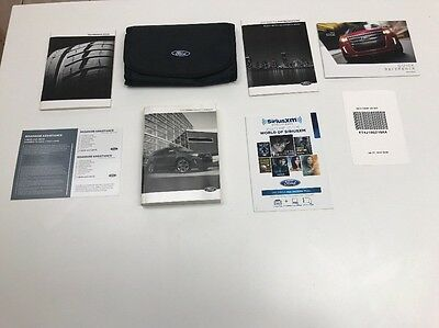 Ford Edge 2014 Owners Manual Books In Case / /  / Oem/ Free Shipping