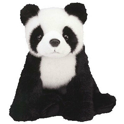 TY Classic Plush - BAMBOO the Panda Bear (8 inch) - MWMTs Stuffed Animal Toy