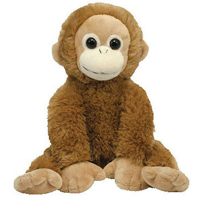 TY Classic Plush - BONGO the Oranguta (13.5 inch) Rare! - MWMTs Stuffed Animal