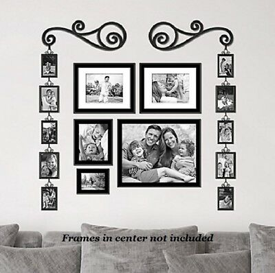 BIG PICTURE FRAME Multiple Collage Family Large Set Wall Mount ...