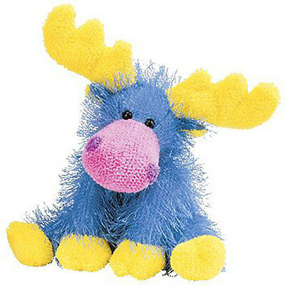 TY Punkies - MARBLES the Moose (10 inch) - MWMTs Stuffed Animal Toy