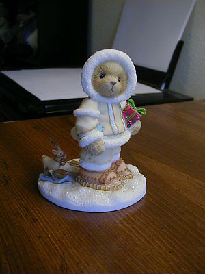"""Cherished Teddies Ned """"Deer Friends Are Lasting Gifts"""""""