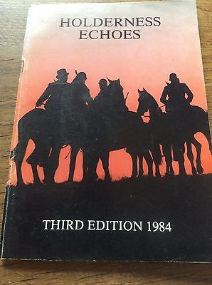 Holderness Echoes Third Edition 1984 Fox Hunt Hunting Hounds Booklet Real Photos