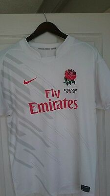england rugby sevens shirt size small. vgc