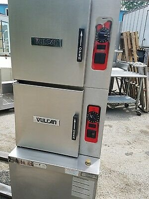 Vulcan Gas 7-Pan Convection Steamer, Model  138086