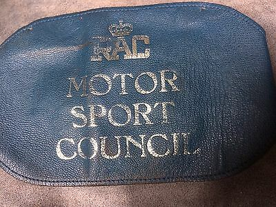 Old RAC Leather Marshals Armband Motor Sport Council