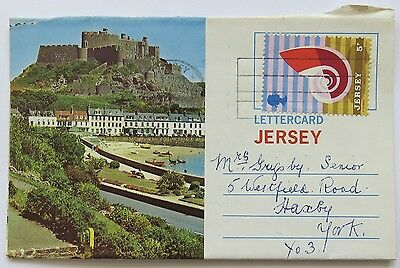 Lettercard Channel Islands. Six Views Of Jersey. Posted