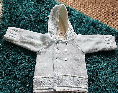 baby boys dandelion cardigan thick age 12-18 months