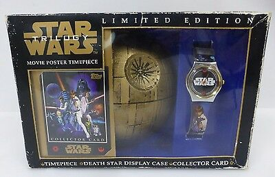 Star Wars Trilogy Limited Edition Movie Poster Timepiece A NEW HOPE