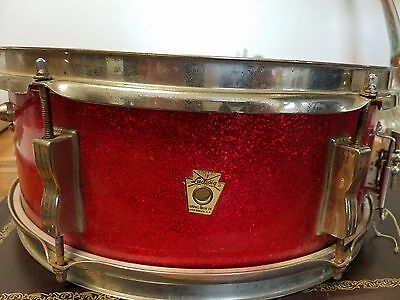 Red Sparkle 5x14 LUDWIG PIONEER  Snare Drum