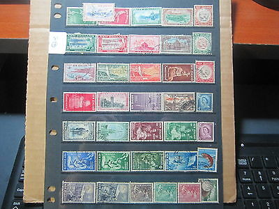 Stamps Used  New Zealand st2