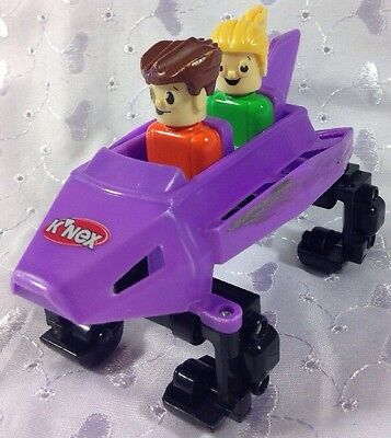 Knex Ripping Rocket Roller Coaster Replacement Part Purple Car Coaster Figures