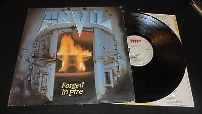 ANVIL Forged in fire Lp vinyl 1st press France 1983 TESTED