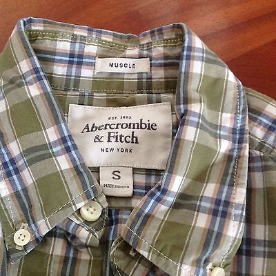 Abercrombie & Fitch Muscle Chemise Carreaux Taille S Tbe