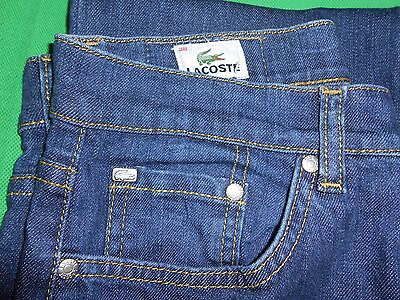 Jeans Lacoste  Taille 38  Comme Neuf