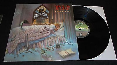 DIO Dream evil Lp vinyl 1st press Holland 1987 TOP tested
