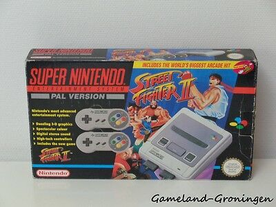 Super Nintendo Console - Street Fighter II Pack (Complete in Box)