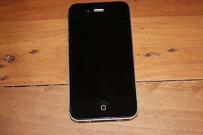 Apple iPhone 4 8 GB Black Model A1332  AT&T Unlocked