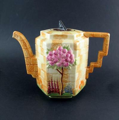 Beswick  1930s  Sundial Teapot  - no. 531 - HM Queen Mary