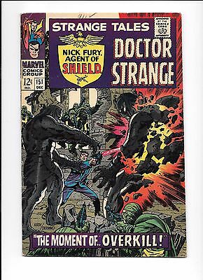 Strange Tales #151 Doctor Strange Nick Fury Agent of SHIELD 1st Jim Steranko