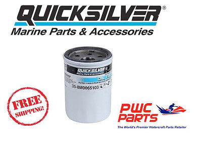QUICKSILVER Mercury Oil Filter Up to 2005 25HP 30HP/ ALL 40-60HP OEM 8M0065103