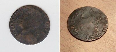 18th CENTURY FARTHING TOKEN (003)