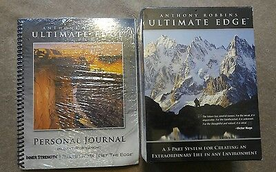 Anthony Robbins Ultimate Edge New 3-Part System new sealed