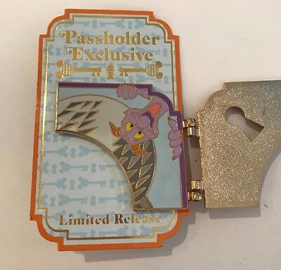 Disney Pin Pins - WDW - FIgment - Annual Passholder Exclusive -  _LE