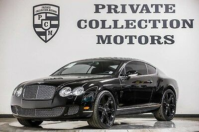 2008 Bentley Continental GT GT Coupe 2-Door 2008 Bentley Continental GT Low Miles Super Clean Clean Carfax