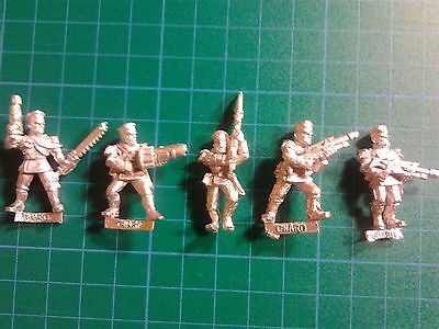 Warhammer 40k Mordian 5 Man Squad Grenade Launcher Sergeant  Imperial Guard