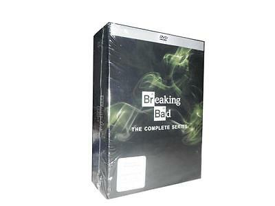 Breaking Bad: The Complete Series Seasons 1-6 (DVD, 21-Disc Set) 1 2 3 4 5 6
