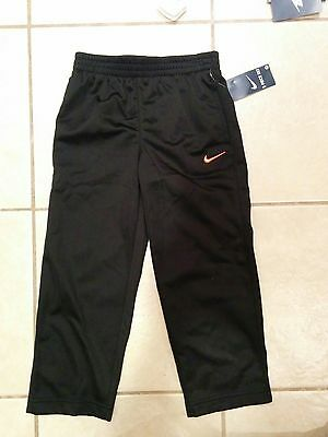 NWT Boys Nike Pockets Athletic Pants  Size 4T black