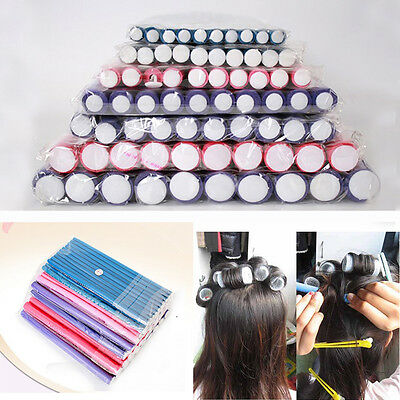 10Pcs Curler Makers Foam Bendy Twist Curls Tool Helper Styling Hair Roller DIY