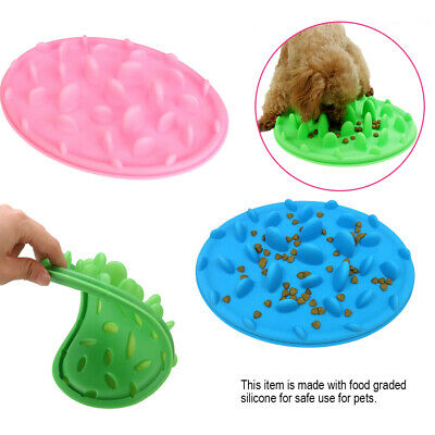 Creative Pets Dogs Slow Down Feeding Feeder Dish Pet Dog Cat Eating Food Bowl