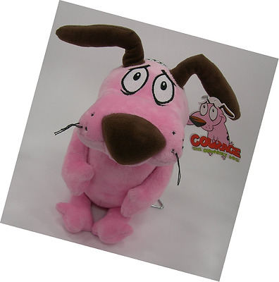 Courage The Cowardly Dog Soft Toy Plush 12''