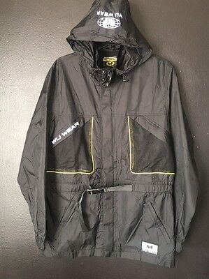 New Size Small Vintage Wu Tang Clan  Wu Wear Black 3M Polyester Field Jacket