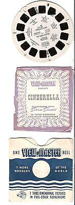 Viewmaster reels - Fairy tale - Cinderella  - FT-5