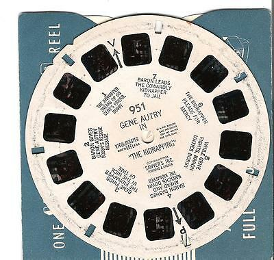 951 Viewmaster reel - Gene Autry