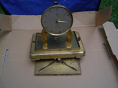 Antique German, mantel Clock, Movement only , face, For parts .Lchatz and Sohne
