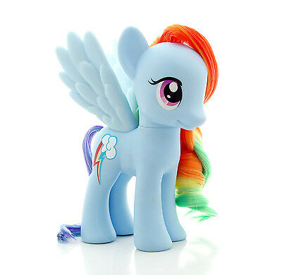 "My Little Pony ""RAINBOW DASH"" Styling size 6"" G4 Brushable Friendship is Magic"