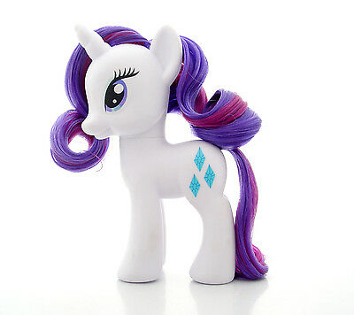 "My Little Pony ""RARITY"" Styling size 6"" G4 Brushable Friendship is Magic"