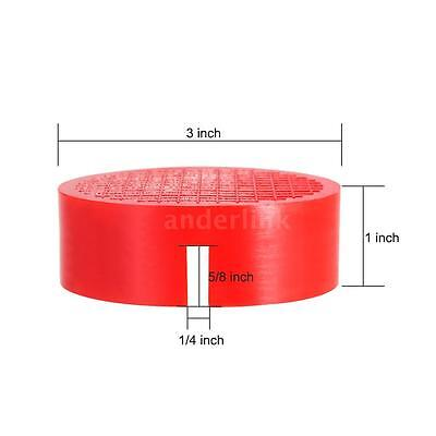 Universal RED Floor Jack Disk Pad Adapter for Pinch Weld Side JACKPAD J6G4