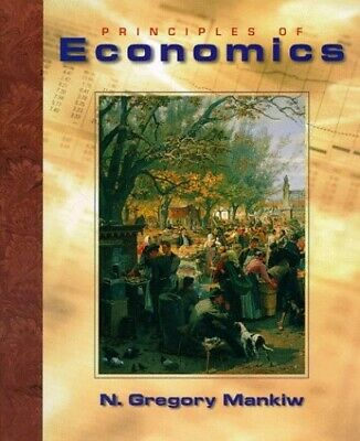 Principles of Economics by Mankiw, N. Gregory Hardback Book The Cheap Fast Free