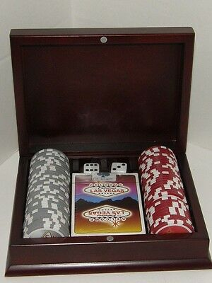 Las Vegas Chips and Playing Card set