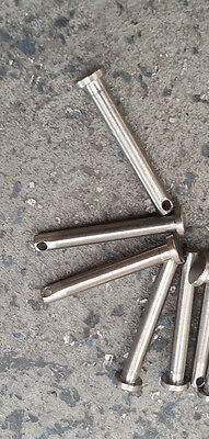 Clevis pin, 4.55mmx38mm, Stainless, lot 5, 3720139x5