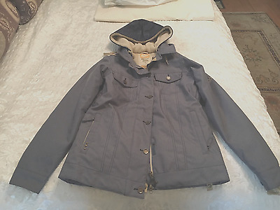 686 WOMENS RESERVED CITY INSULATED DENIM SNOW JACKET - Size M
