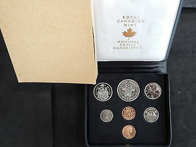 (10) Year Run Canada Proof Like Sets 1971 - 1980 - Royal Canadian Mint