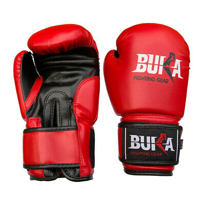 Buka Weight Lifting Gym Gloves Body Building Workout Sheepskin Leather New