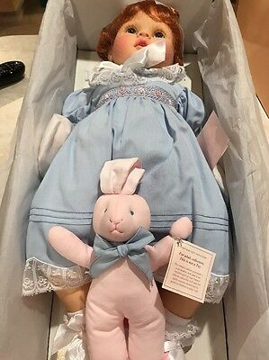 """Pauline's Limited Edition Doll Brianna 20"""" 472/1,800 NRFB Beautiful Porcelain"""