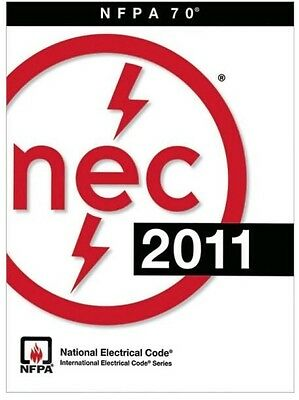 NEC 2011 NFPA 70 National Electrical Code Book
